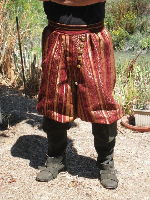 Pirate Captains Pants, renaissance Breeches