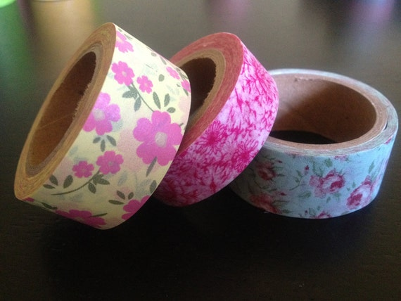 Washi Tape Set - Perfect to Seal Glassine Candy Bags