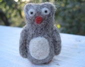 Mr. Mc Hoots  - Tiny Needle Felted Owl