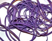 Purple Rubber Bands - Pack of 60  - Rubber Bands for Crafts and Office Use - Stretch, Elastic, Latex Rubber, Office Supplies