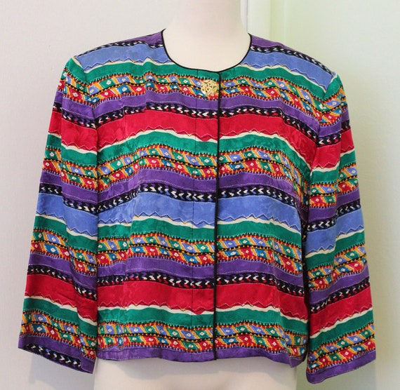 Multicoloured Printed Blouse