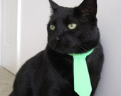 Cat Tie - It's Easy Being Green