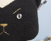 Bad Ass Honey Badger, Upcycle Eco Friendly, Plush Stuffed Animal Toy