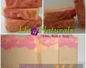 Tahitian Melon - All Natural Soap, Vegan Soap, Mango Butter Soap
