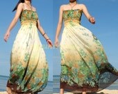 Graduation Sexy Maxi Dress Romance Long Dress Floral Bridesmaid Dress Sundress XS X M L XL