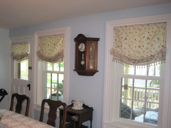 Roman Shades Flat Relaxed Or London