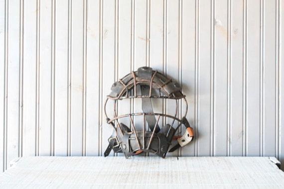 Catchers Mask // Baseball Display