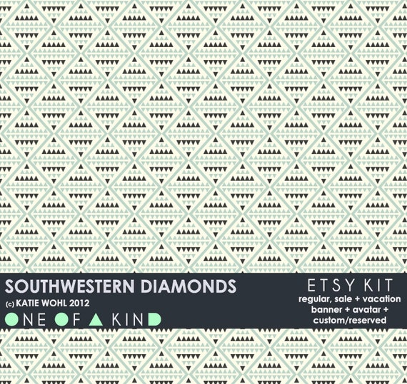Southwestern Diamonds - ETSY KIT