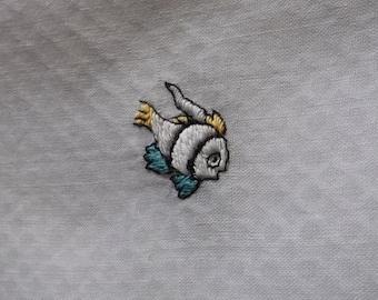 Vintage embroidered  hankie Hanky