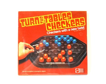 Turn The Table Checkers by Mattel 1978 Never Opened