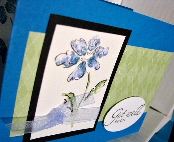 Get Well Flower Blues
