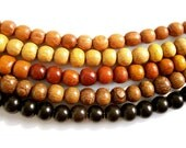 Mala Bead Necklace, 5 Colors To Choose From