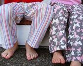 Childrens Pajama Pants PDF Sewing Pattern, 12M to 5T