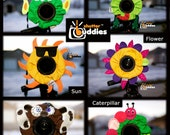SPECIAL 12 Shutter Buddies with Squeakers Camera Lens Accessories