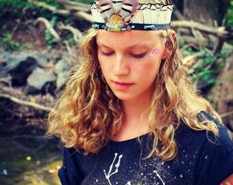 Eva Feather Crown
