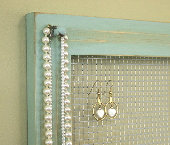 Diy Modern Hanging Jewelry Organizer: Unavailable Listing On Etsy