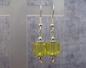 Yellow Lantern Earrings