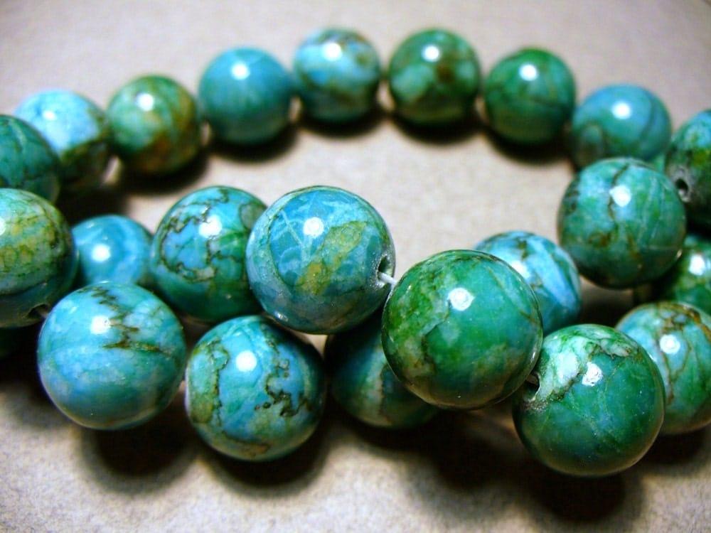 Green Jasper Necklace  |Green Jasper Jewelry
