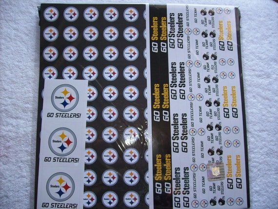 Football Sports Offical Team Scrapbook Paper Pack STEELERS