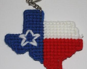 1606 Texas Key Chain