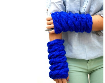 Electric Blue Hand Warmers.