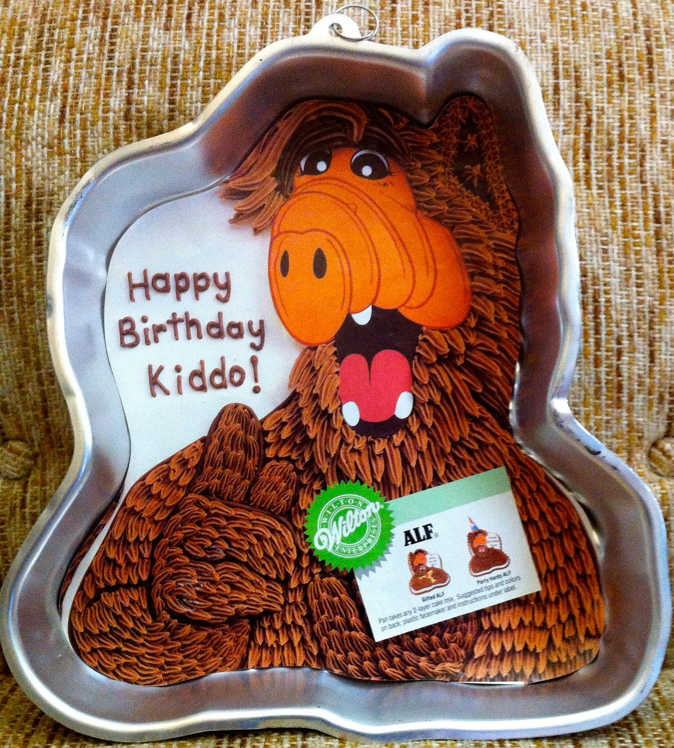 Cake Tv Show Reviews : ALF 1980 s Vintage Wilton Birthday Cake Pan