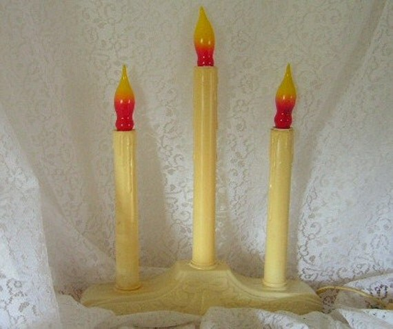 Electric Christmas Window Candles