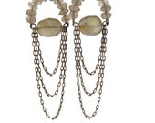 Labradorite Boho Chandelier Dangle Earrings