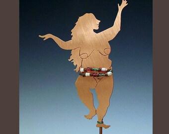 Garden Stake - Big Beautiful Goddess
