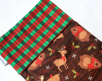 Woodsy Christmas Creatures Christmas Stocking