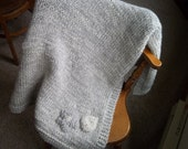 Hand Knit Afghan, Made to Order