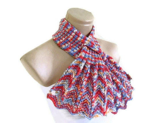 Multicolor neckwarmer, scarf, knitting,Holiday , Accessories, Mothers day, gift