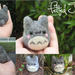 Totoro Inspired Felted Doll