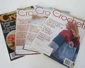9 Crochet Patterns Magazines Booklets Crochet! Easy Scarves Perfect Pillows