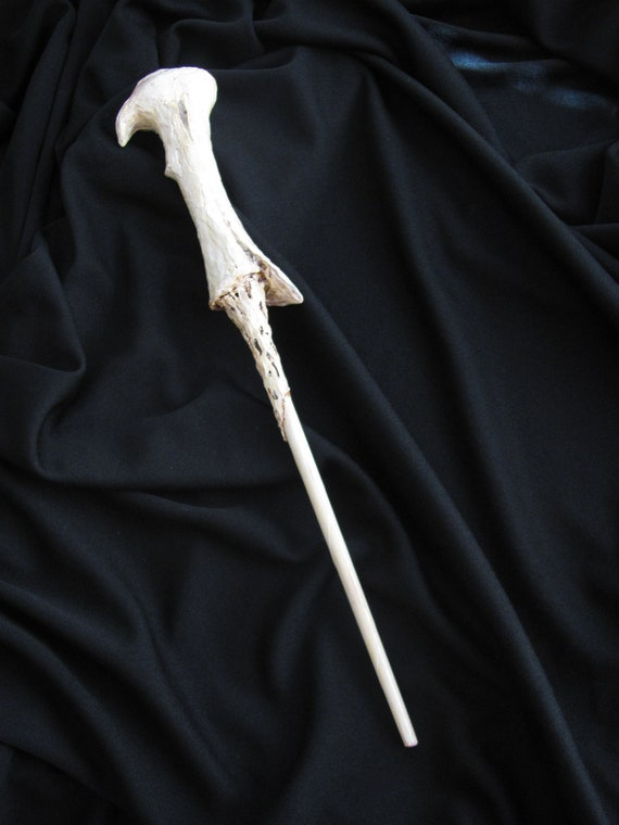 Items similar to lord voldemort 39 s wand on etsy for Voldemort wand