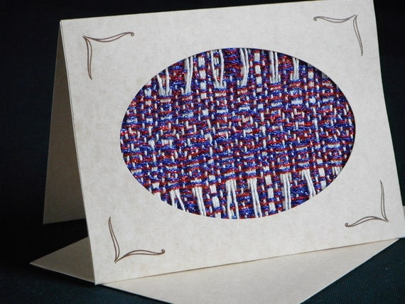 Handwoven Note Card (C88)