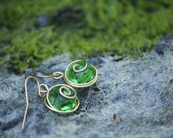 The Legend of Zelda® Kokiri's Emerald Earrings