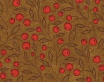 Fabric Phenomenal Fall by Sandy Gervais for Moda color Bronze 17683 16 - quilting fabric - cotton fabric