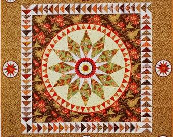 Chocolate Stars quilt pattern