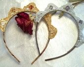 Crochet Princess Tiara Headband