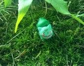 Tiny Bulbasaur Pokemon Sculpture