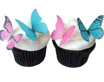 Wedding Cake Topper Edible Butterflies In 24 By IncrEDIBLEtoppers