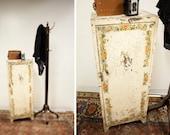 Vintage Chippy Industrial Metal Cabinet