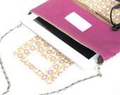 iPad Sleeve, Back to School iPad Case, New iPad Sling Bag, iPad Bag with DETACHABLE straps, ipad Pink daisies