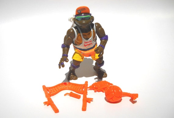 TMNT Action Figure: Spike n Volley Don Complete
