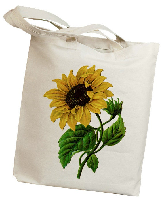Colorful Flowers Vintage 06 Eco Friendly Canvas Tote Bag (ilp006)