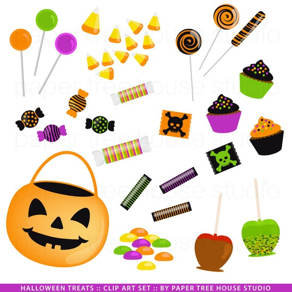 Halloween Candy Clip Art Black And White Images & Pictures - Becuo