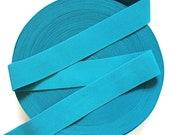 "2"" Turquoise Stretch Elastic Band."