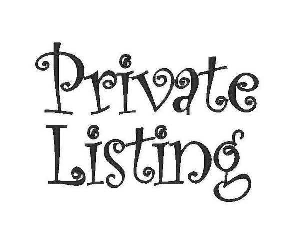 Private Listing for Rachel Hettinger