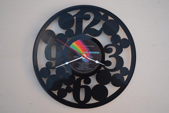 Vinyl Record Wall Clock (artist is Lynyrd Skynyrd)